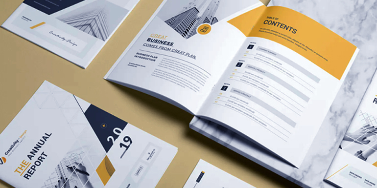 Tips for Designing Annual Reports Book