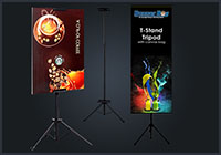 Stand Tripod Banner